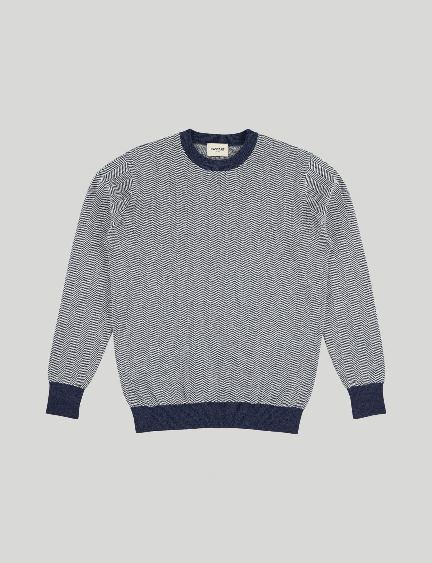Castart - Knitwear Panda - Navy Blue