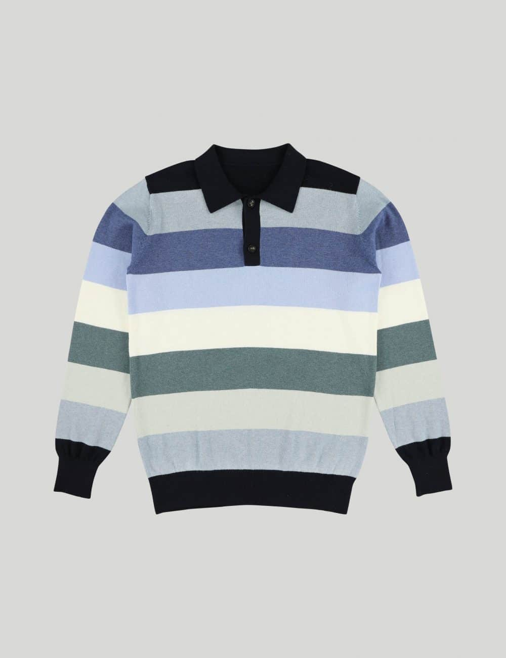 Castart - Teddy Bear knitwear - Navy Blue