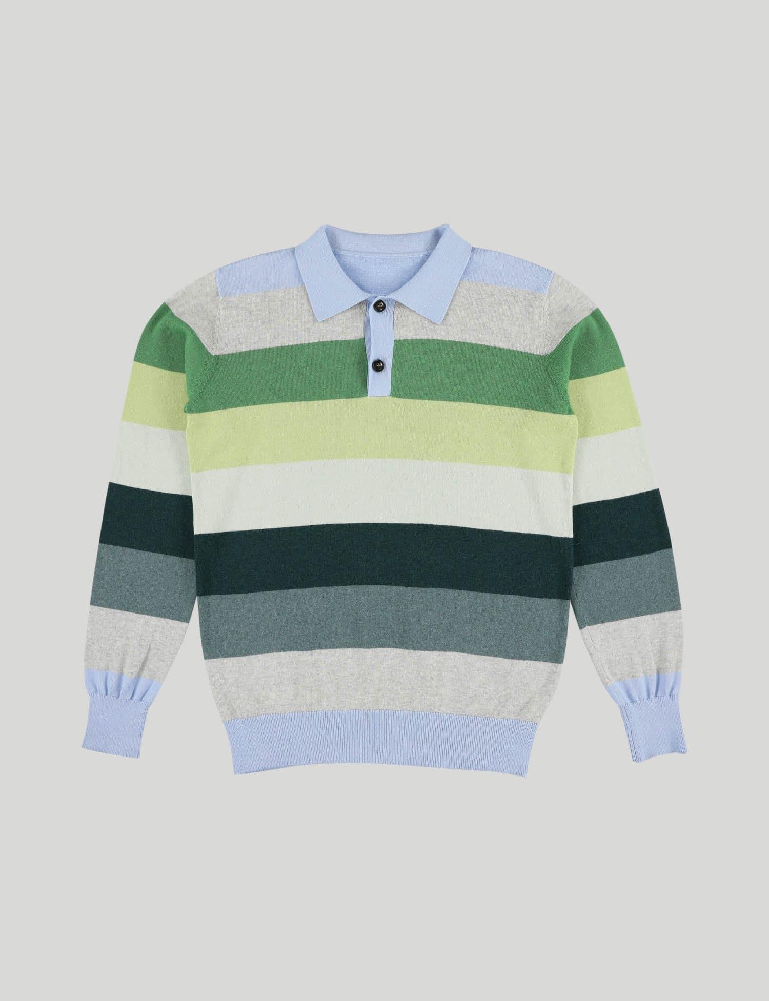 Castart - Teddy bear knitwear - Light Blue