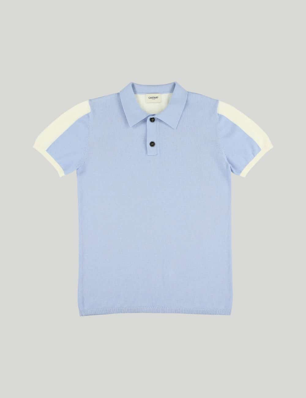 Castart - Topolino knitwear - Light Blue