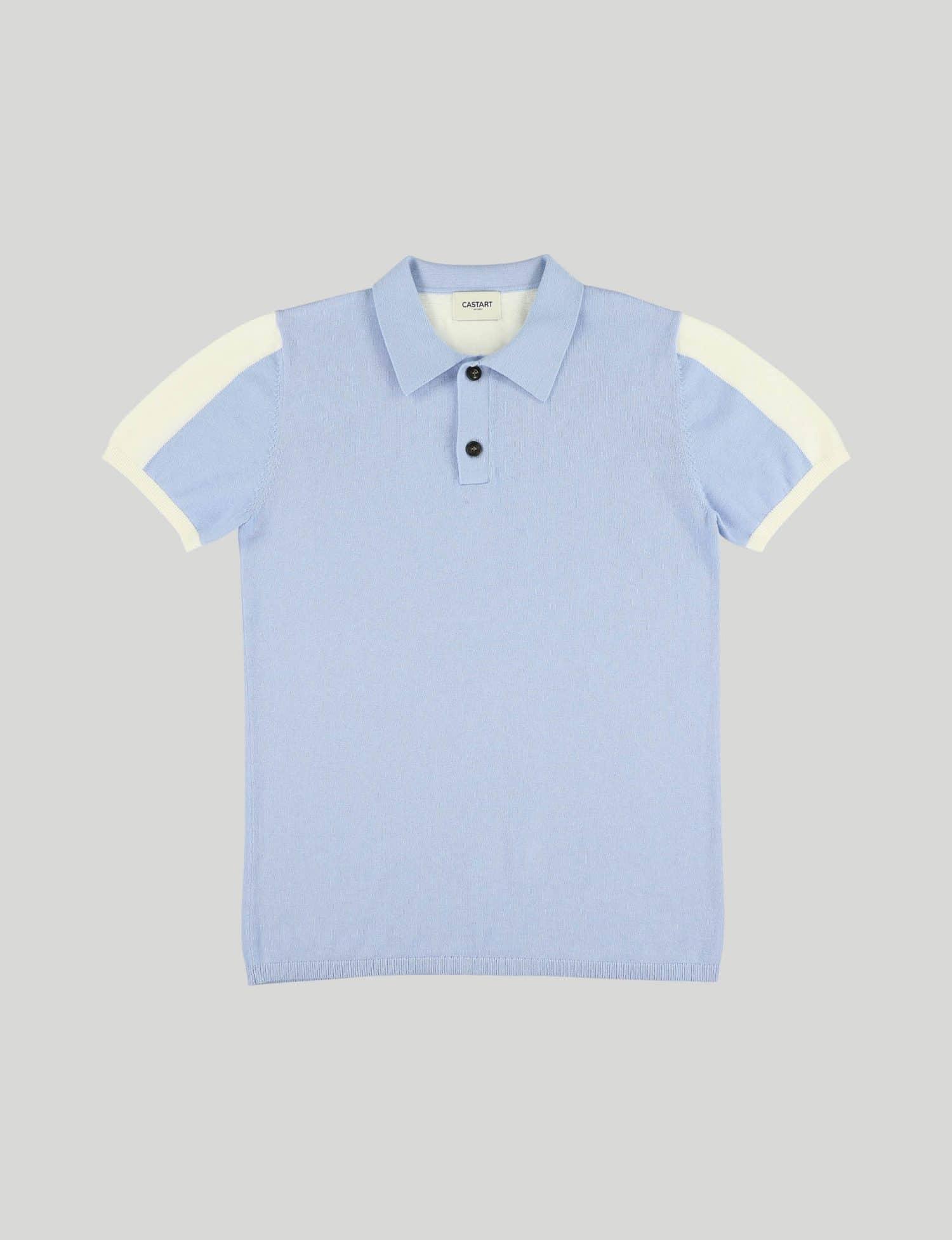 Castart - Topolino knitwear - Light Blue