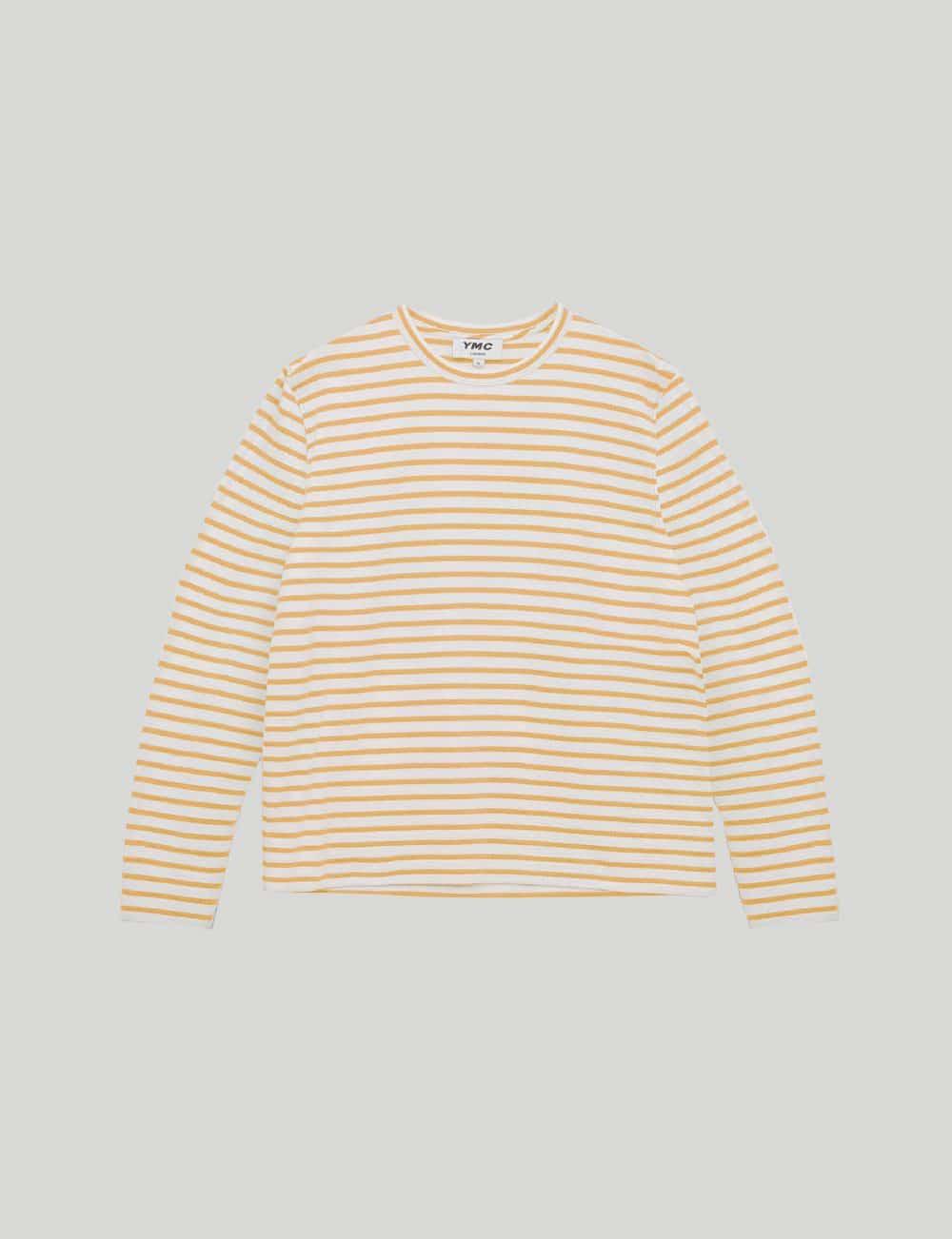 YMC - Castart - Cotton Crepe sweatshirt - Yellow