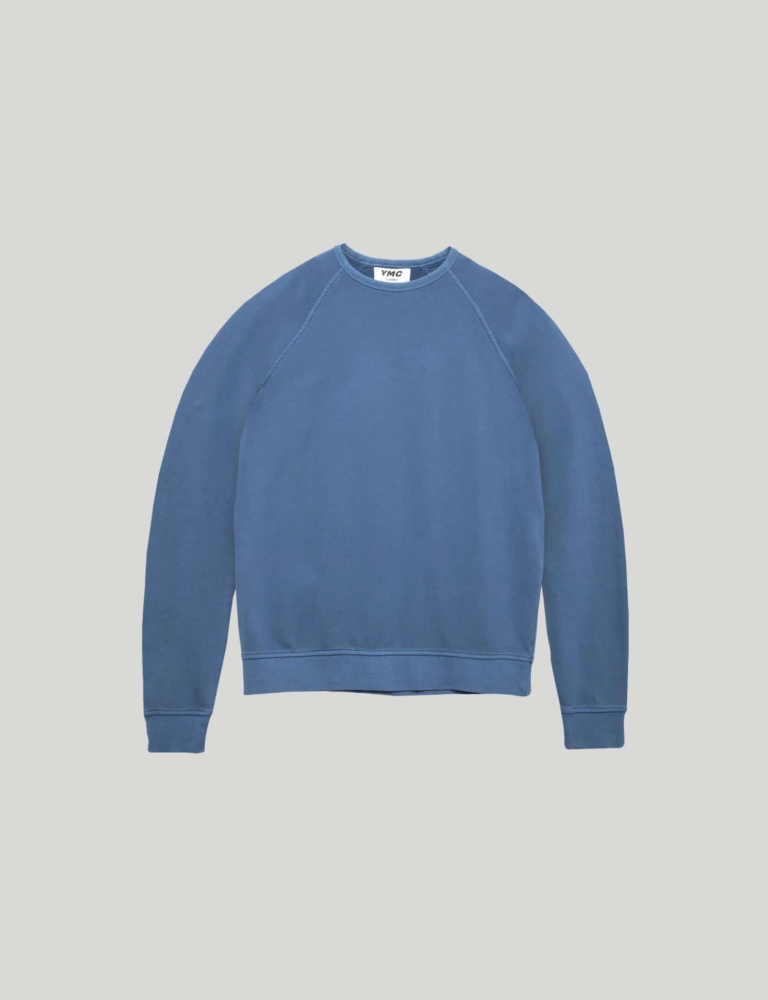YMC - Schrank Raglan Sweatshirt - Blue