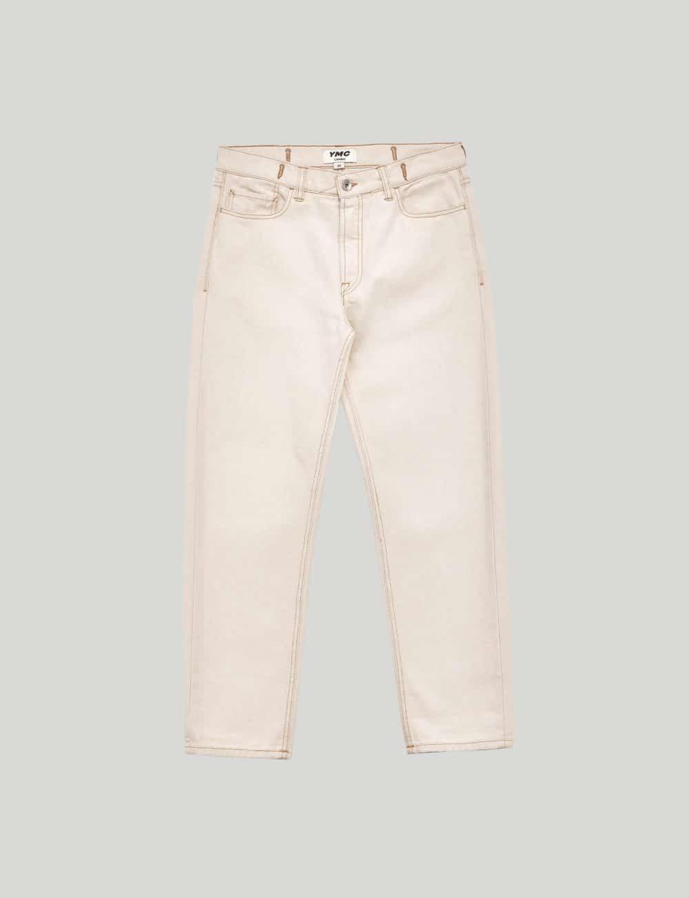 Ymc - Castart - Tearaway jeans - Ecru