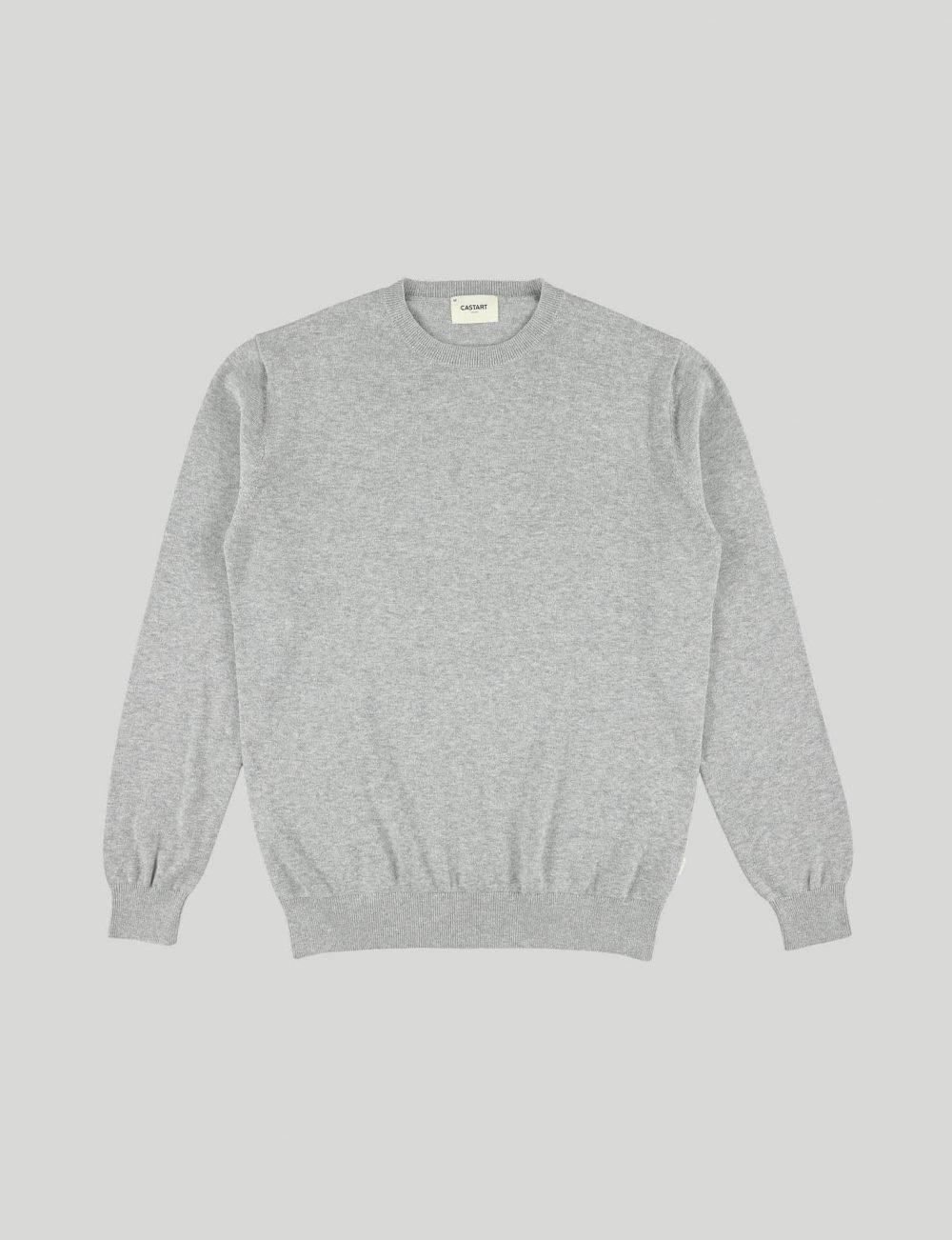 Castart - Shrubs knitwear - Mid Grey
