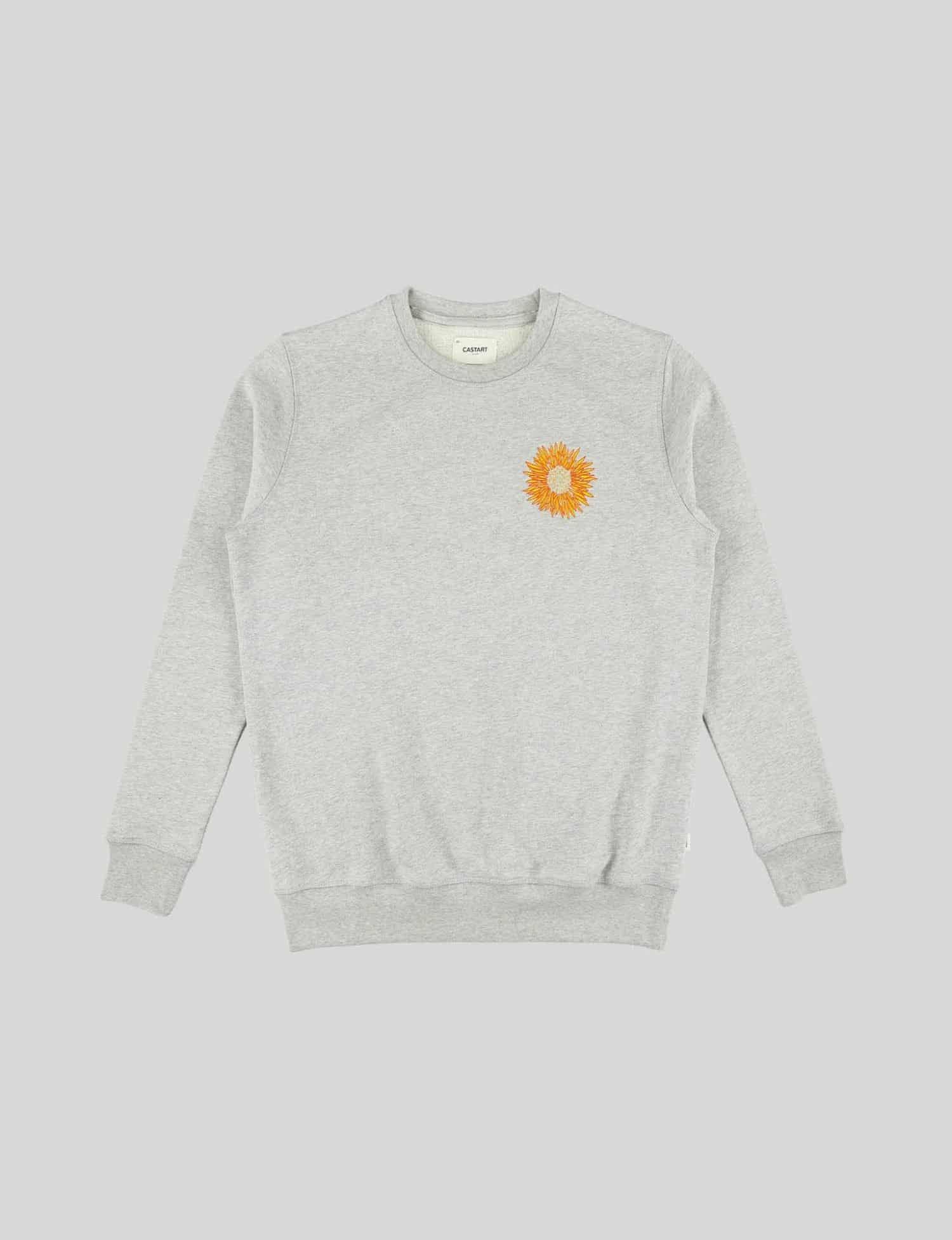 Castart - Mari Posa Sweater - Mid Grey