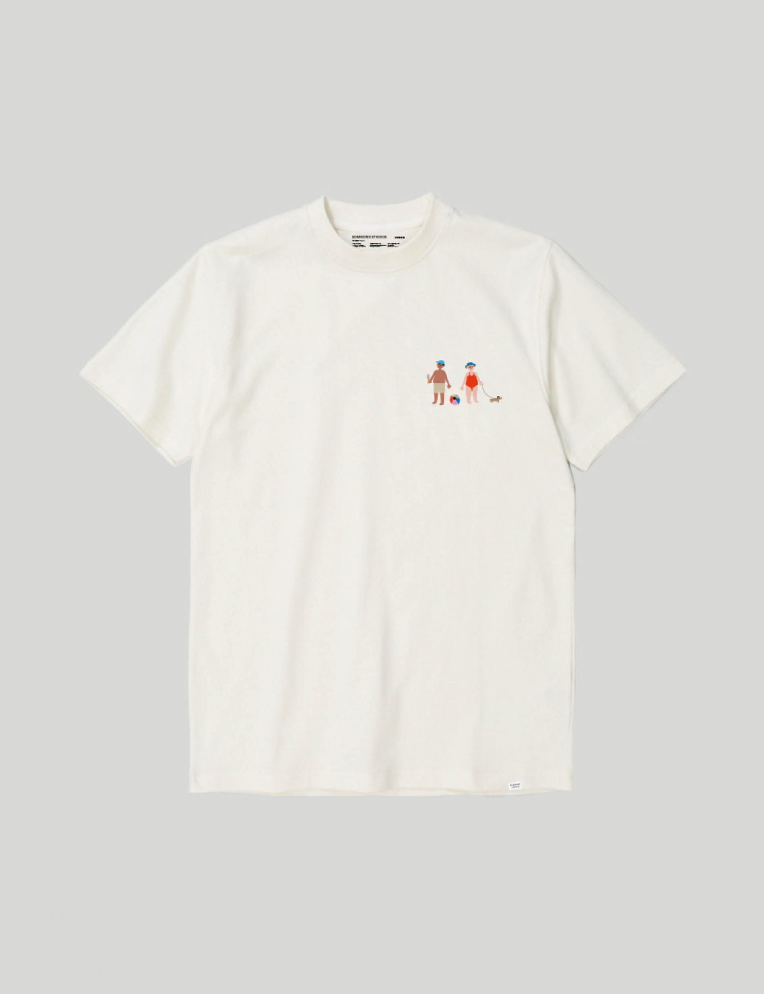 Castart - Edmmond - Grandmother Tee - White