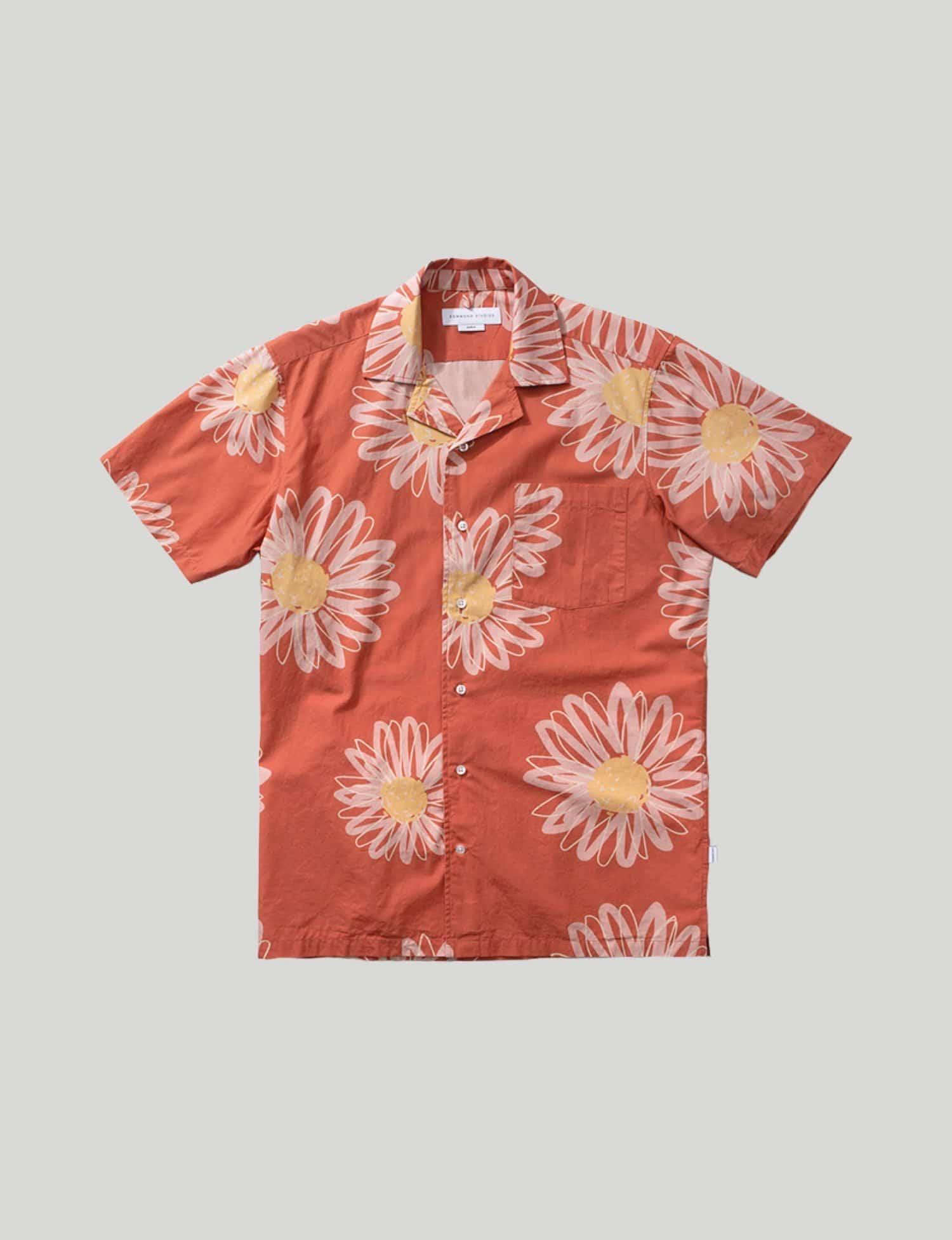 Castart - Edmmond - Must Short Sleeve Shirt - Orange