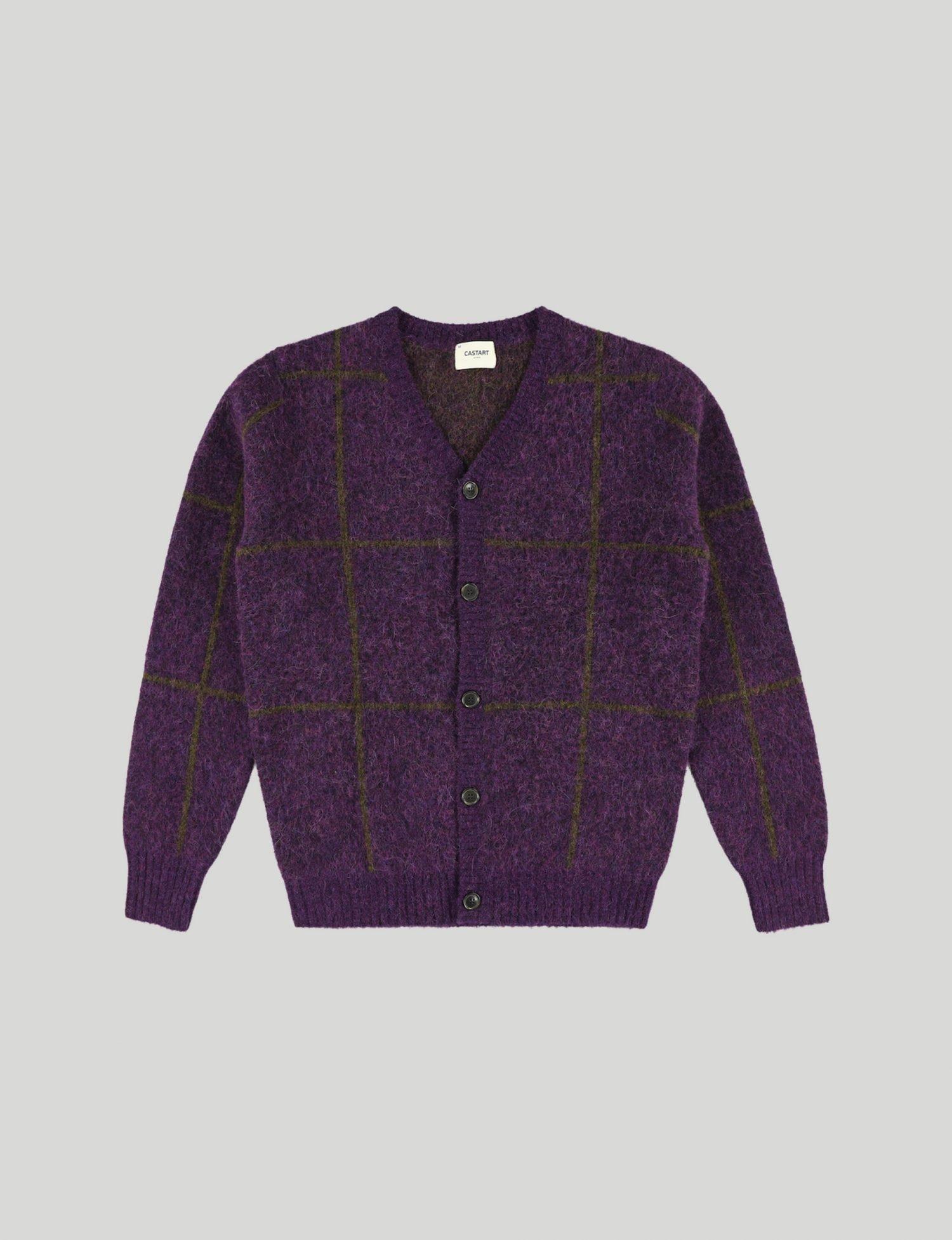Castart - Beefsteak Knitwear - Purple