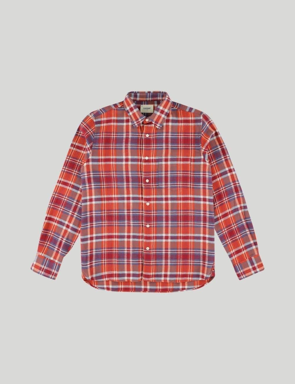 Castart - King Oyster Cot Shirt - Red